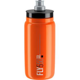 Elite Fly Drinking Bottle 0.5 l, orange/black logo